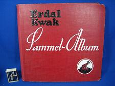 Großes Erdal Kwak Sammel- Album 18 komplette Serien viele Fotos der Bilder