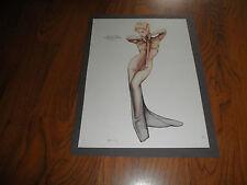 "OLIVIA  DEBARARDINIS PIN-UP "" Have Nothing to Wear ""Original Magazine Print"