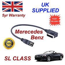Mercedes Benz Slk Class Mp3 Memory Stick USB Cable de interfaz de medios de