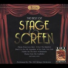 Various Artists : Best Of Stage Screen [3 CD] CD