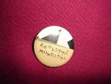 The Police Zenyatta Mondatta A&M Promo Pin Back Button
