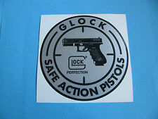 Round Glock Perfection Sticker / Decal.