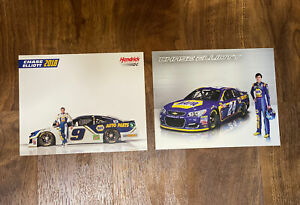 Chase Elliott Napa Hero Post Card LOT (2) Hendrick Motorsports