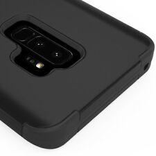 SAMSUNG GALAXY S9 PLUS G965 FULL BLACK TUFF 3-PIECE SHOCKPROOF CASE IMPACT COVER