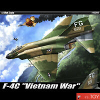 "Academy 1/48 USAF F-4C ""Vietnam War"" Phantom Aircraft Plastic model kit #12294"