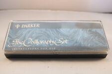 Vintage (c1990) Parker Vector Calligraphy Pen Case, (NO PENS)
