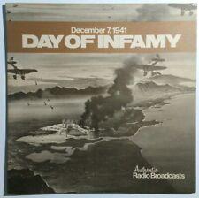December 7, 1941 Day Of Infamy Lp Kalmar records K 444-1 1978