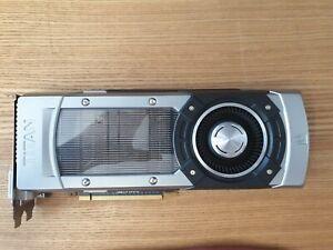 Nvidia GeForce GTX Titan EVGA 6GB, FULLY WORKING.