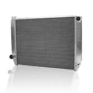 """Griffin 1-26242-X Universal Fit Radiator 27.5"""" x 19"""" 2-Row Crossflow Ford Style"""