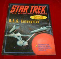 Star Trek Enterprise Model Books Make a Starship 1997