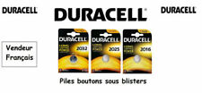 Button Batteries Lithium Duracell CR2032 3V
