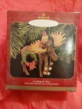 Hallmark 1997 Folk Art Americana Leading The Way Moose Ornament-Qx6782