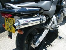 Honda HORNET 600 98-02 stainless round road legal Motorbike Exhaust Can