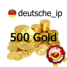 GW2 Guild Wars 2 - 500 Gold - Schnell, Sicher, Handgefarmt - EU - Deutsche Ip -