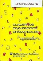 Cuaderno De Ejercicios Gramaticales