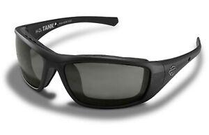 Harley-Davidson Sonnenbrille Matt Schwarz Wiley X Tank Black Damen Herren Neu
