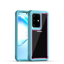 For Samsung Galaxy S20+ S20 ultra Bumper Frame Case Rugged Heavy Duty Cover