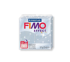 Staedtler Fimo Effect Modelling Clay Metallic Silver 57g