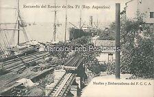 ARGENTINA ROSARIO MUELLES Y EMBARCADEROS DEL F.C.C.A.