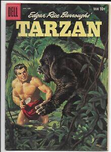 Tarzan #116 1960 Dell Silver Age Comic Book Fine