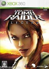 Used Xbox 360 Tomb Raider: Legend MICROSOFT JAPAN JAPANESE JAPONAIS IMPORT