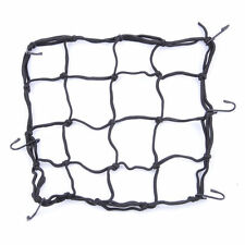 6 Hooks Hold Down Cargo Luggage Helmet Net Mesh for Motorcycle Motorbike HF
