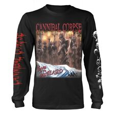 Cannibal Corpse 'Tomb Of The Mutilated' Long Sleeve T shirt - NEW
