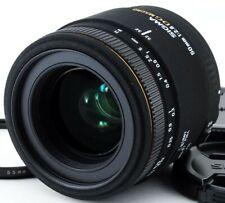 Sigma 50mm F/2.8 Ex Dg Macro Af Obiettivo Primo per Canon Ef Da Giappone [ EXC #