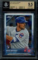 2015 Topps Chrome Kris Bryant Rookie RC BGS 9.5 Gem Mint Card #112 Chicago Cubs
