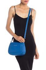 NWT!Marc Jacobs Empire City Mini Messenger Leather Crossbody Bag $325 ULTRA BLUE