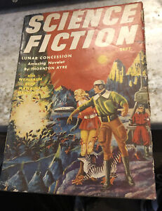 1941 Science-Fiction Magazine Pulp Excellent Condition