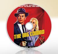 The Big Combo (1955) DVD Film Noir Crime Drama Movie / Film Cornel Wilde