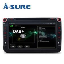 "8"" GPS DVD DAB+ für VW Passat B6 B7 Golf 5/6 Tiguan Touran Caddy Polo Sharan T5"