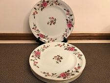 """Meito """"ROSELLA"""" Empire China ~ Set of 5 ~ Dinner Plates ~ 9 7/8"""""""