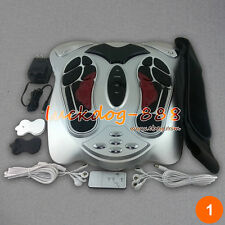 NEW Blood Booster Circulation Foot Massager Infrared Remote Control Reflexology