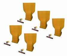 5 - Caterpillar J350 Style Bucket Flare Dirt Teeth w pins - 8J-3350 , 107-3350
