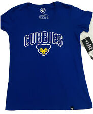 Woman's Chicago Cubs CHICUB Logo 47 Brand Tee NWT Authentic Size Medium Royal