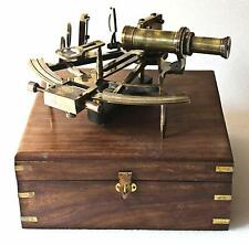 Nautical Marine Heavy German Working Model Ship Sextant Sea Collectible Antique