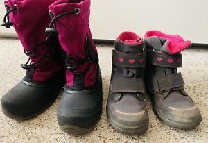 Winterstiefel Stiefel Schuhe Set Herbst Kinder Mädchen Kamik Super Fit 29