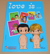 1977 Panini Love is... Empty Sticker Album