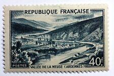 FRANCE 1949, timbre 842A, VALLEE DE LA MEUSE NEUF ** MNH B4