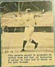 1932 Wheaties #20-A Babe Ruth - XF