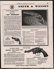 1948 Smith & Wesson .357 Magnum & .38 Special Military & Police Revolver Ad
