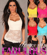 Evening, Occasion Halter Hand-wash Only Sleeve Tops & Blouses for Women