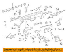TOYOTA OEM 93-96 T100 Instrument Panel Dash-Case Clip 9046707041B0
