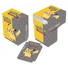 Ultra Pro Deck Box Pokémon Pikachu deckbox boîte de rangement pour cartes 844813