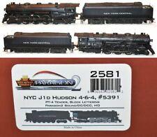 New York Central NYC 5391  J-1d 4-6-4 DCC Sound Broadway Ltd   2581 HO MR5.6