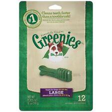 4   X  18 oz.bags GREENIES Dog Treats LARGE sz. 48 Treats Total!!