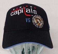 Winter Classic 2011 Capitals VS. Penguins Black Men's  Curved Hat (A)