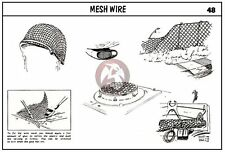 Verlinden (All Scales) Mesh Wire [Figure and Diorama Accessory kit] 48